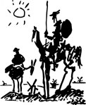 By Picasso. Inspired by Don Quixote.