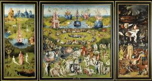 The Garden of Earthly Delights by Bosch, which I experienced (yes, it's an experience) at the Prado in Madrid