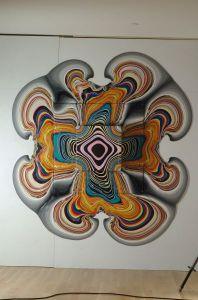 Untitled, 2010, Acrylic on Plywood