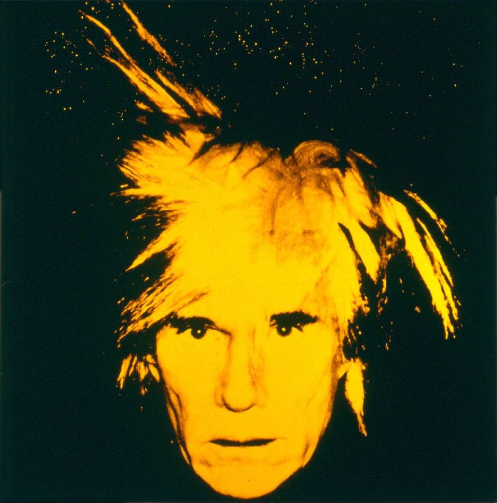 Gut gemocht Andy Warhol-Self Portrait (1986) | artsnapper NS96