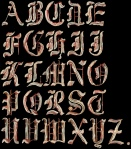 Bacon Alphabet