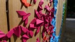 RAINBOW 2012 May, Urban installation, Origami